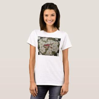 Louisiana crawfish and magnolias t-shirt