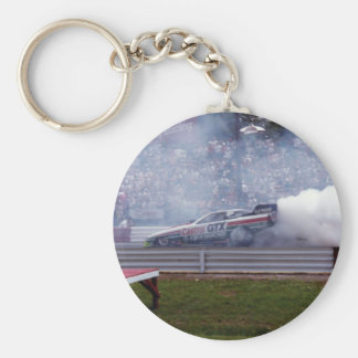 Louisiana Drag Racing Key Ring