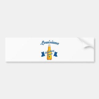 Louisiana Drinking team Bumper Sticker