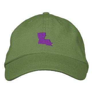 Louisiana Embroidered Hats