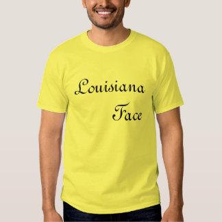 Louisiana Face Tshirts