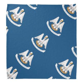 Louisiana flag bandana