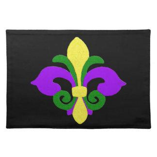 Louisiana Fleur de lis (Mardi Gras).jpg Placemat