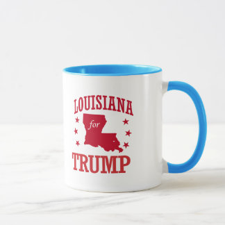 LOUISIANA FOR DONALD TRUMP MUG