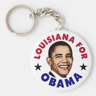 Louisiana For Obama Key Chain