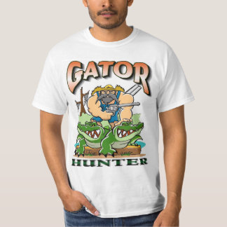Louisiana Gator Hunter t-shirt design.