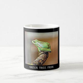 Louisiana Green Tree Frog Basic White Mug