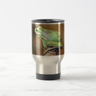 Louisiana Green Tree Frog Stainless Steel Travel Mug