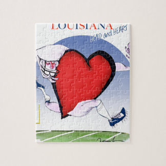 louisiana head heart, tony fernandes jigsaw puzzle