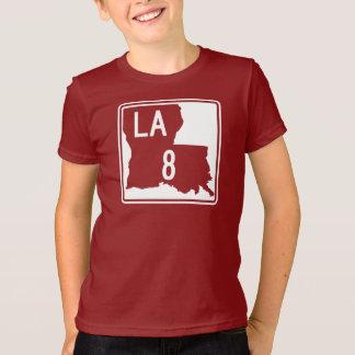Louisiana Highway 8 T-shirt