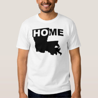 Louisiana Home Away From State T-Shirt Tees
