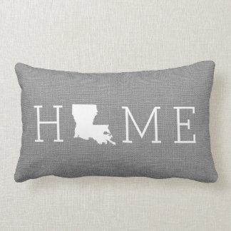 Louisiana Home State Throw Pillow