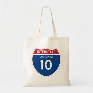 Louisiana LA I-10 Interstate Highway Shield -