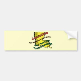 Louisiana LA US Motto ~ We're Not ALL Drunk Bumper Sticker