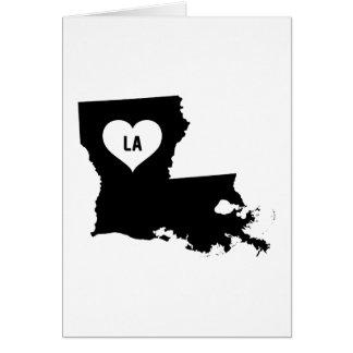 Louisiana Love Card