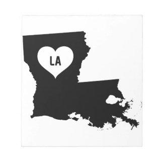 Louisiana Love Notepad