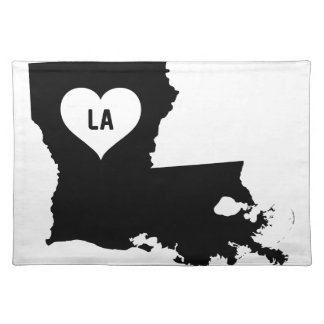 Louisiana Love Placemat