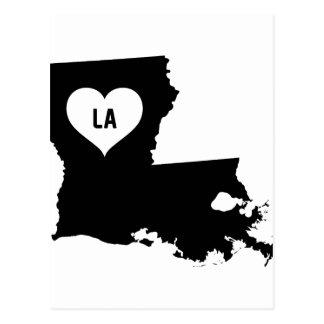 Louisiana Love Postcard
