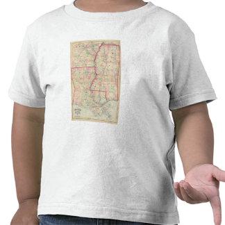 Louisiana, Mississippi T Shirts