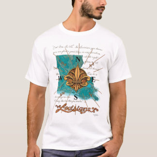 Louisiana North, South, East & West T-Shirt