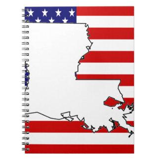Louisiana Spiral Note Books