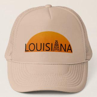 Louisiana Oil Field Sunset Trucker Hat