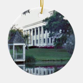 Louisiana Plantation Ceramic Ornament