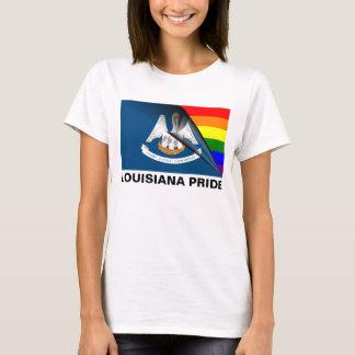 Louisiana Pride LGBT Rainbow Flag T-Shirt