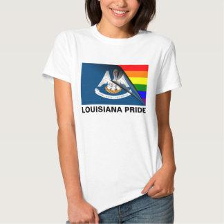 Louisiana Pride LGBT Rainbow Flag Tshirt
