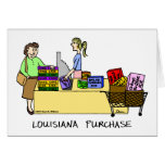 Louisiana Purchase Cartoon Card
