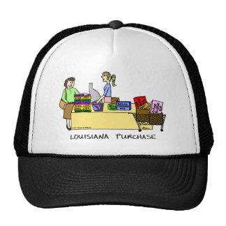 Louisiana Purchase Cartoon Hat