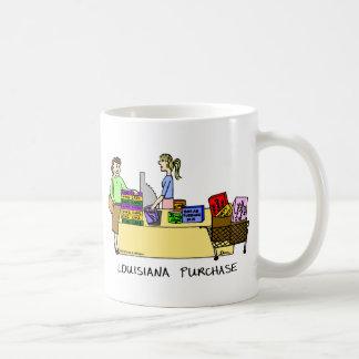 Louisiana Purchase Cartoon Mug