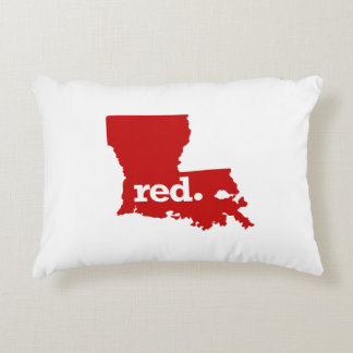 LOUISIANA RED STATE DECORATIVE CUSHION