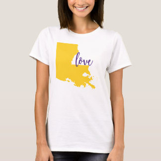 Louisiana State Tee University Love LSU