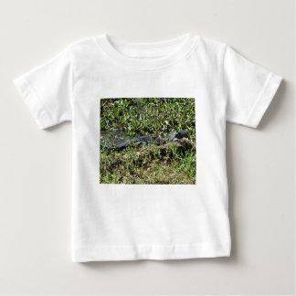 Louisiana Swamp Alligator in Jean Lafitte Close Up Baby T-Shirt