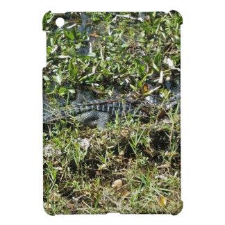 Louisiana Swamp Alligator in Jean Lafitte Close Up Cover For The iPad Mini