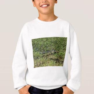 Louisiana Swamp Alligator in Jean Lafitte Sweatshirt