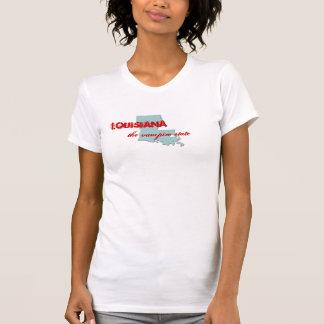 Louisiana, the vampire state t-shirt