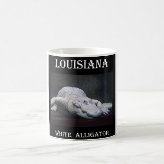Louisiana White Alligator New Coffee Mug
