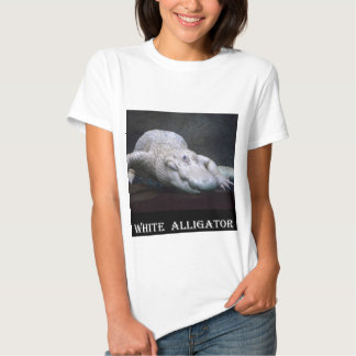 Louisiana White Alligator T Shirts