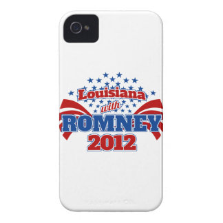 Louisiana with Romney 2102 Case-Mate iPhone 4 Case
