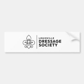 Louisville Dressage Society logo Bumper Sticker