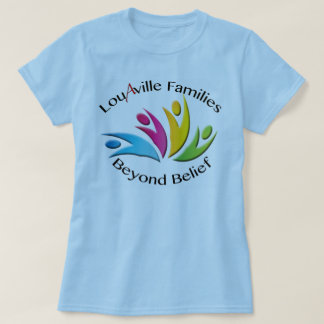 Louisville Families Beyond Belief -- Blue Women's T-Shirt
