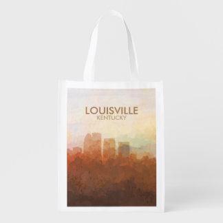 Louisville, Kentucky Skyline IN CLOUDS