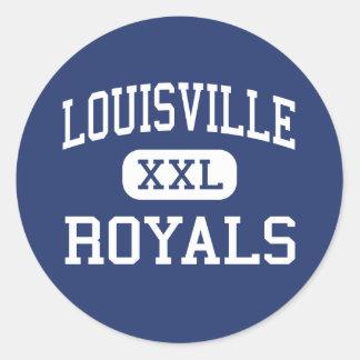 Louisville - Royals - High - Woodland Hills Classic Round Sticker