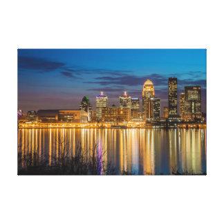 Louisville Skyline Canvas Print