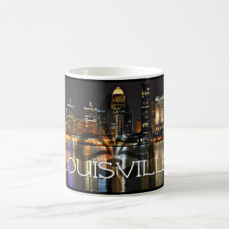 Louisville Skyline Coffee Mug with Fleur de Lis
