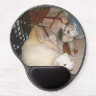 Loung Ferrets Gel Mouse Pad