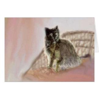 Lounge Cat Card