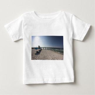 Lounge Chairs at Panama City Beach Pier Baby T-Shirt